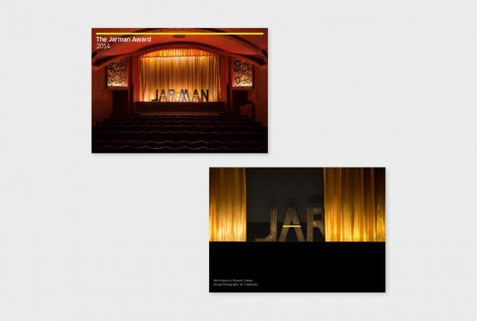 photographs in catalogue design for JARMAN awards