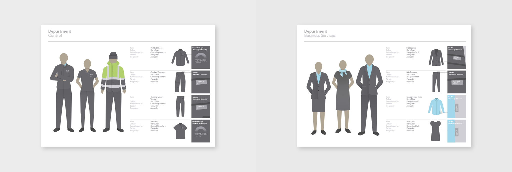 illustration design of the uniform guidelines for control and business services