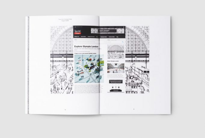 catalogue pages with website design