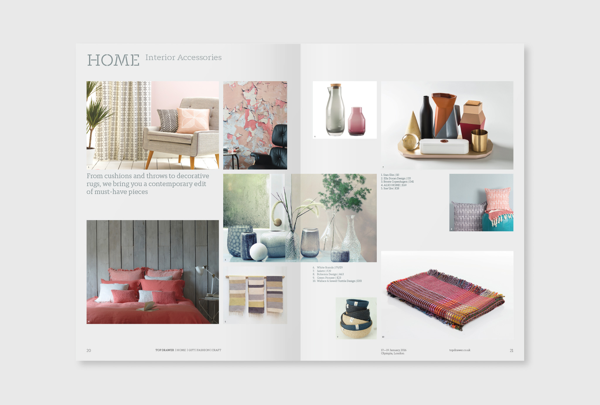 show preview magazine pages of the home sector