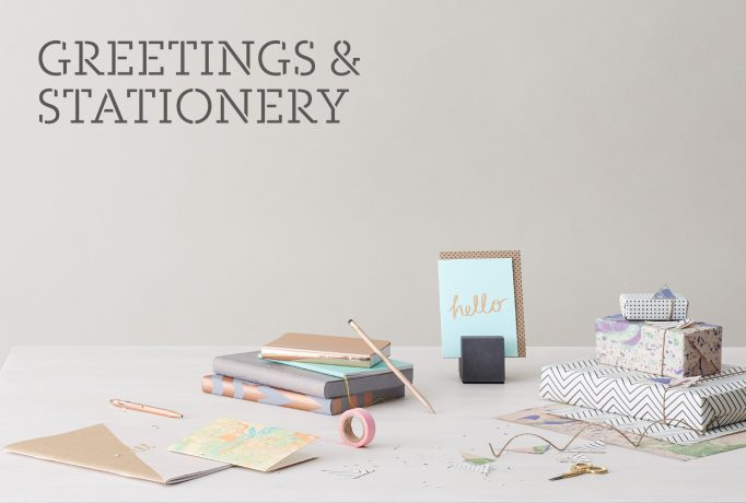 'GREETINGS & STATIONERY' sector photography