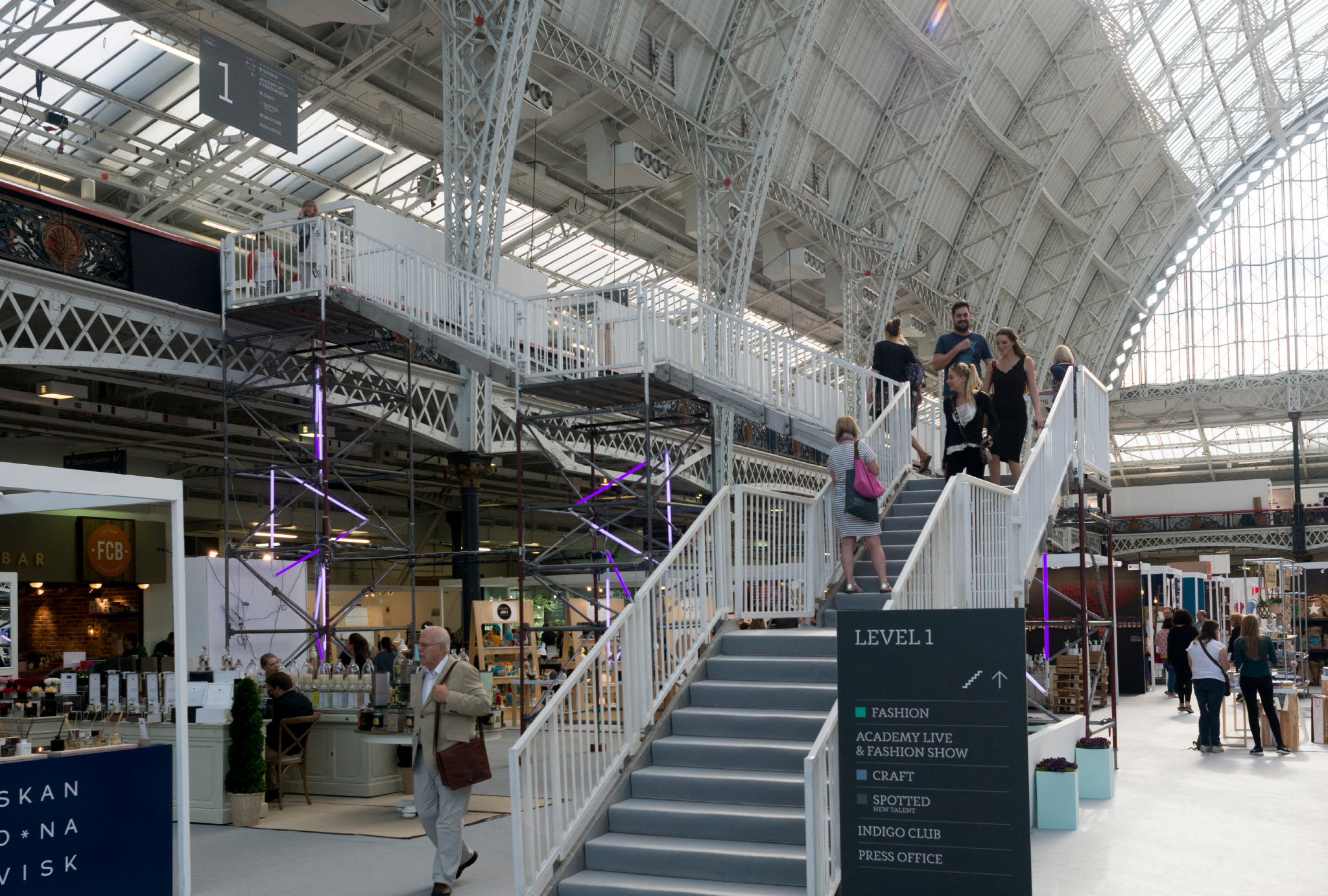 exhibition from Top Drawer in the Olympia London
