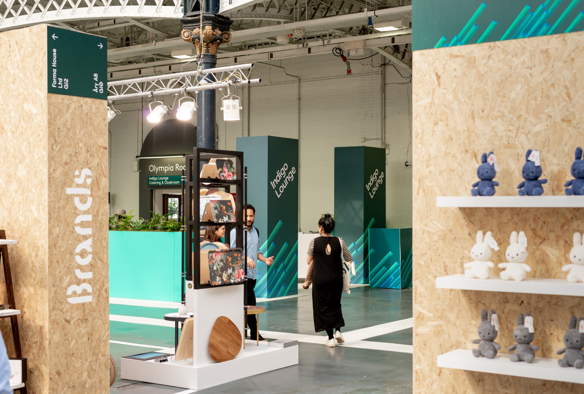 show design of the exhibition
